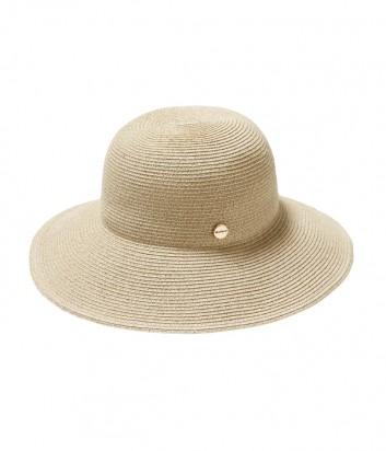 Классическая шляпа Seafolly 71367-HT с брендированной кнопкой бежевая