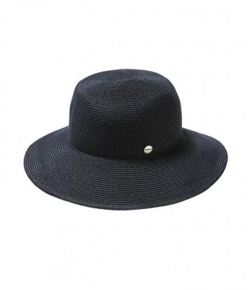 Классическая шляпа Seafolly 71367-HT с брендированной кнопкой синяя