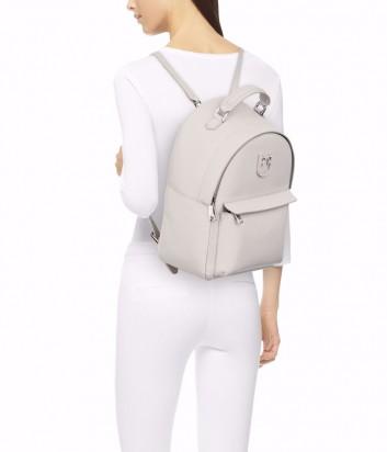 Кожаный рюкзак Furla Favola S 1021962 с внешним карманом кремовый