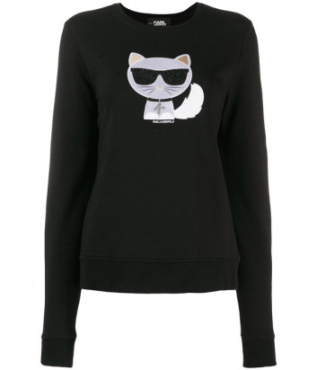 Свитшот Karl Lagerfeld 96KW1822 черный