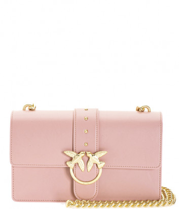 Сумка на цепочке PINKO Love Bag 1P21ECY в гладкой коже цвета пудры