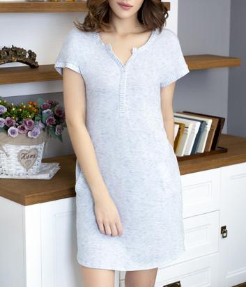 Сорочка Leinle Gloss 707-16155 серая
