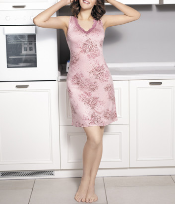 Сорочка Leinle Rose Garden 617-60363 розовая