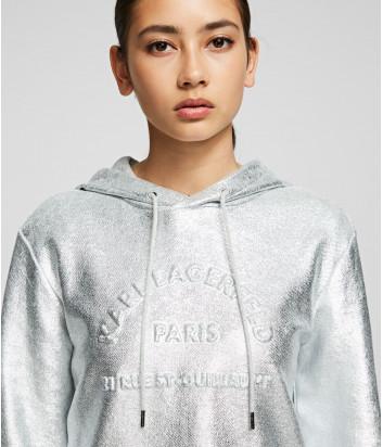 Женское худи Karl Lagerfeld 96KW1825 с металлизированный напылением