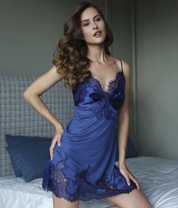 Сорочка Suavite Ноэлла синяя