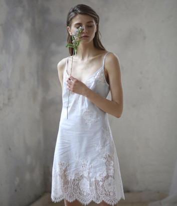 Сорочка Suavite Сабина нежно-голубая