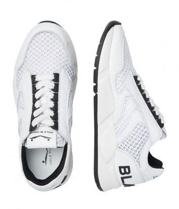 Мужские кроссовки Voile Blanche Arpolh Mesh Eyelet с перфорацией белые