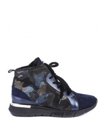 Ботинки на меху Helena Soretti 3125 синие