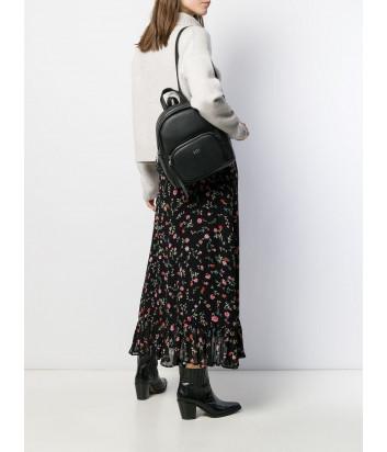 Черный рюкзак Tosca Blu TF1933B33 с внешним карманом на молнии