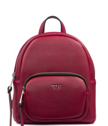 Красный рюкзак Tosca Blu TF1933B33 с внешним карманом на молнии