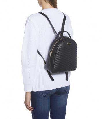 Рюкзак Tosca Blu TF192B282 в стеганной коже черный