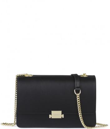 Кожаная сумка на цепочке Tosca Blu TF19HB232 черная