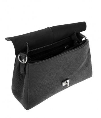 Компактная сумка Tosca Blu TF1915B51 в зернистой коже черная