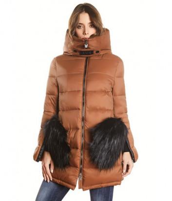 Куртка J.B4 Just Before WH04328 карамельного цвета