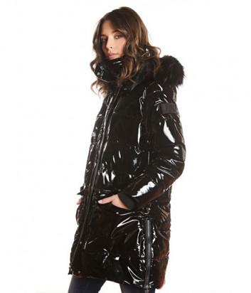 Куртка J.B4 Just Before WH05302 глянцевая черная
