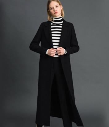 Длинное пальто TWIN-SET 192TP2313 черное