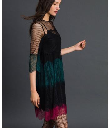 Кружевное платье TWIN-SET 192TP2703 цветное