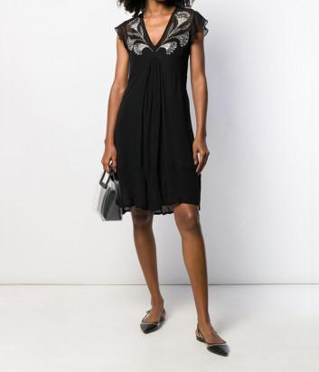 Платье TWIN-SET 192TP2670 с роскошной вышивкой