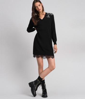Теплое платье TWIN-SET 192TP3331 в комплекте с комбинацией