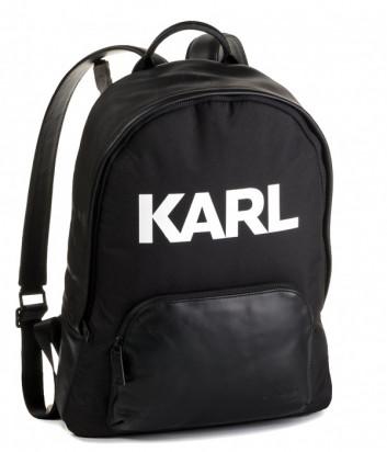 Рюкзак Karl Lagerfeld 805908 черный с белой надписью