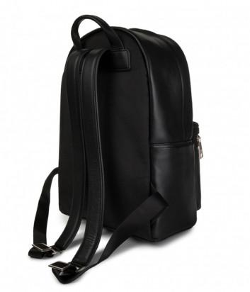 Черный рюкзак Karl Lagerfeld 805901 с тиснением на внешнем кармане