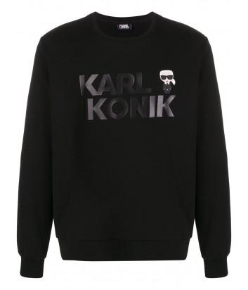 Толстовка Karl Lagerfeld Ikonik 705028 черная
