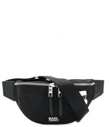 Поясная сумка Karl Lagerfeld Ikonik 805913 черная