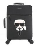 Чемодан на колесах Karl Lagerfeld Ikonik 805910 черный