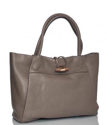 Кожаная сумка Carlo Salvatelli 510 карамельная