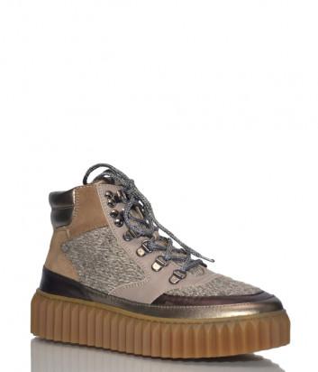 Кожаные ботинки Voile Blanche 2501684 комбинированные