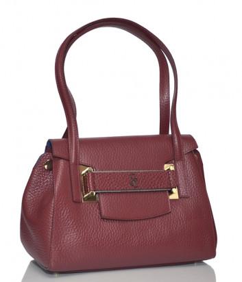 Кожаная сумка Carlo Salvatelli 460 красная