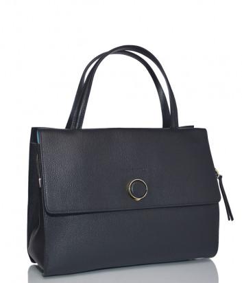 Кожаная сумка Carlo Salvatelli 517 черная