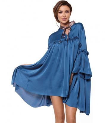 Платье Pigeon P-598 синее