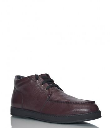 Кожаные ботинки Giampiero Nicola 38632 коричневые