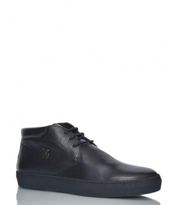 Кожаные туфли Giampiero Nicola 16680 черные
