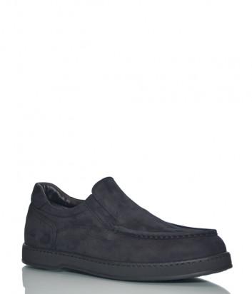 Замшевые туфли Giampiero Nicola 38610 черные