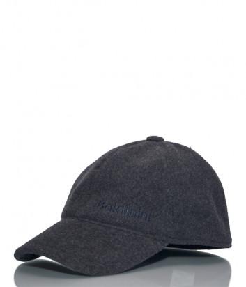 Мужская кепка Baldinini 021000 из шерсти серая
