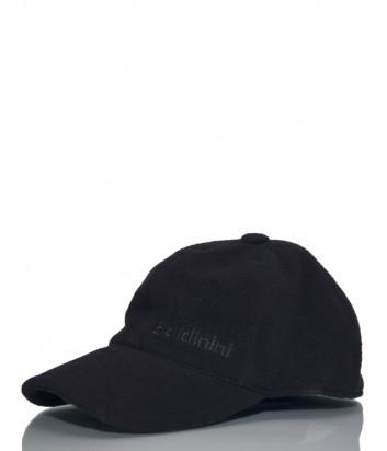 Мужская кепка Baldinini 021000 из шерсти черная