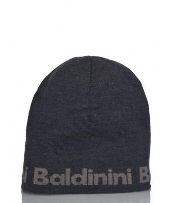 Шапка Baldinini 021005 из шерсти серая