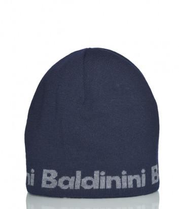Шапка Baldinini 021005 из шерсти синяя