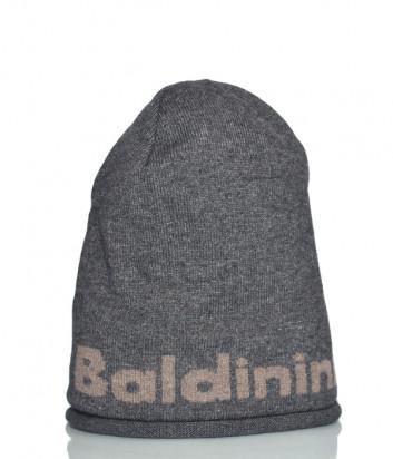 Шапка Baldinini 021003 из шерсти серая