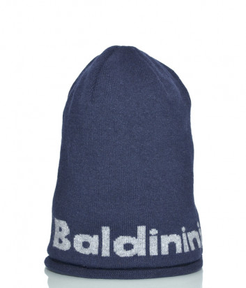 Шапка Baldinini 021003 из шерсти синяя