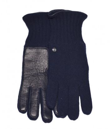 Перчатки Baldinini 530107 комбинированные синие