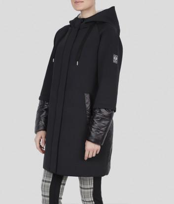 Пальто с капюшоном Sportalm 904911 черное