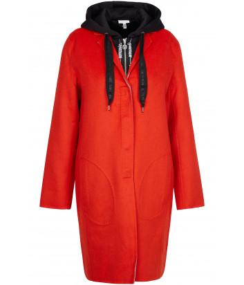 Двойное пальто Sportalm 904913 с капюшоном красное