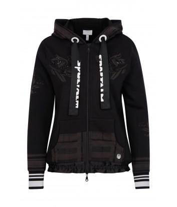 Олимпийка Sportalm 909508 с капюшоном черная