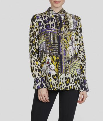 Блуза Sportalm 908108 с ярким принтом