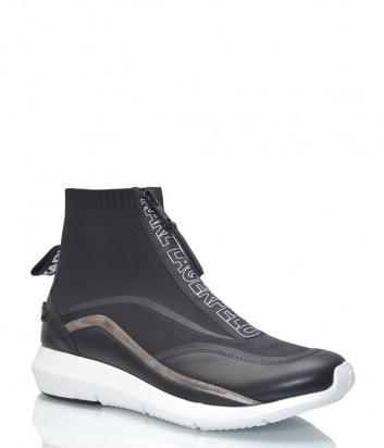 Кожаные ботинки Karl Lagerfeld 61145 черные