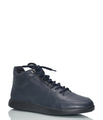 Кожаные ботинки Baldinini 947499 синие