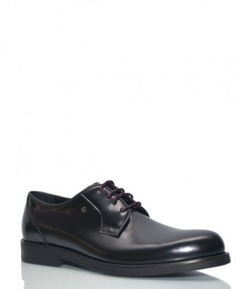 Черные туфли Roberto Serpentini 22110 в полированной коже